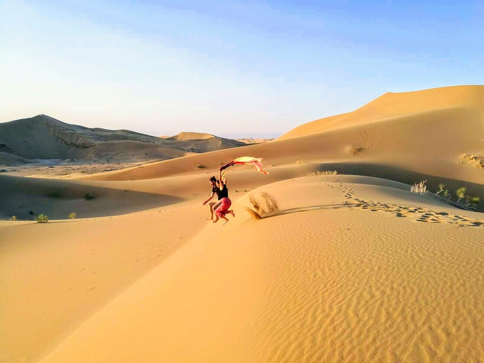 Travel Owls in der Iranische Wüste