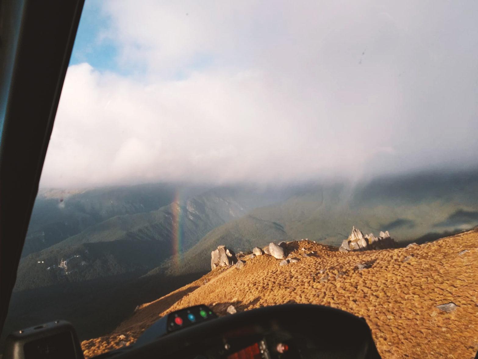 WBB #11 Mit dem Hubschrauber zum Schlauchboot in Neuseeland 1